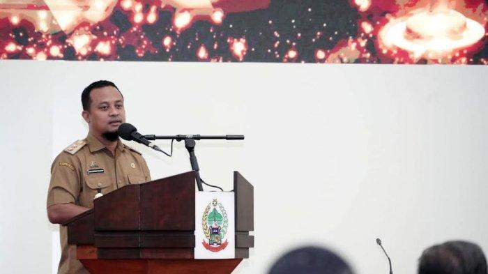Jayadi Nas Sedang Kunker di Pinrang Sebagai Kadis PM-PTSP saat Diangkat Menjadi Staf Ahli Kesra