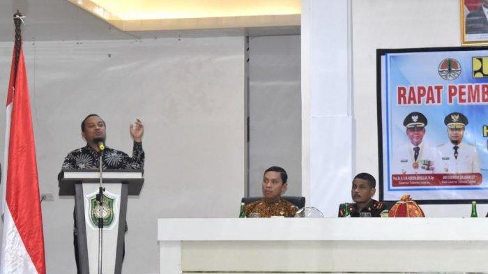 Wakil Gubernur Sulsel Optimis Pembangunan Bendungan Pamukkulu Capai 40 Persen 2020