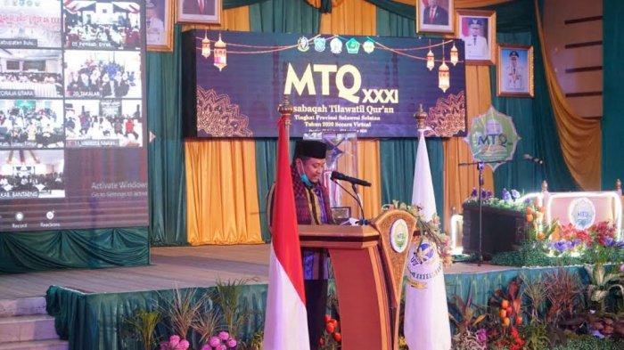 Wakil Gubernur Sulsel Hadiri Penutupan MTQ Tingkat Sulsel di Pangkep, Tuan Rumah Juara Tiga