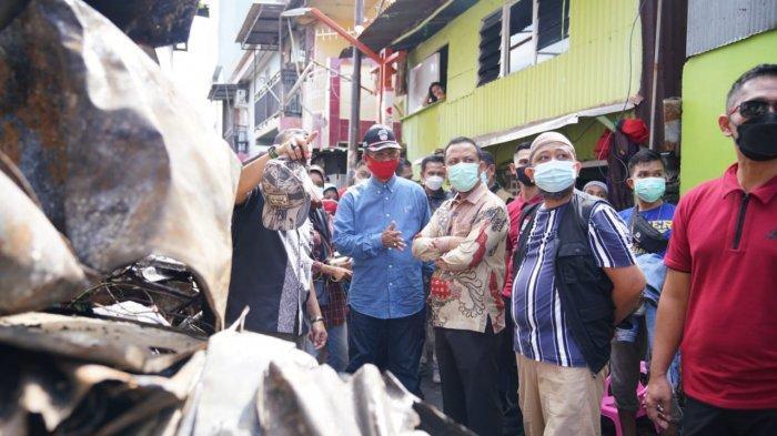 Kunjungi Lokasi Kebakaran Jl Tinumbu, Andi Sudirman: Seharusnya Ada APAR Kecil di Sini
