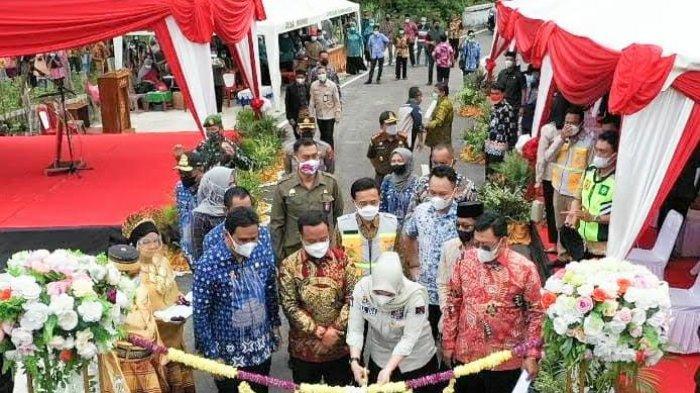 Peresmian Proyek Jalan Takkalasi Momen Terakhir Rudy Djamaluddin Bareng Sudirman, Bocorkan Plt Baru