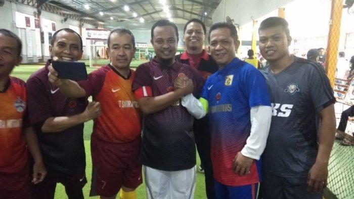 Wagub Sulsel Ramaikan Rangkaian Event HBH Ikatek Unhas dengan Main Futsal