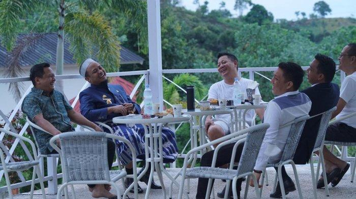 Plt Gubernur Sulsel Andi Sudirman Sulaiman Mesra Bareng Rusdi Masse di Palopo