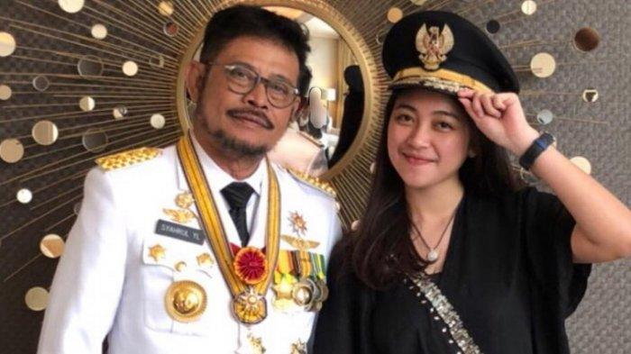 Viral Menteri Pertanian Syahrul YL Main Tik Tok Bareng Anak & Cucunya yang Cantik, Ini Videonya