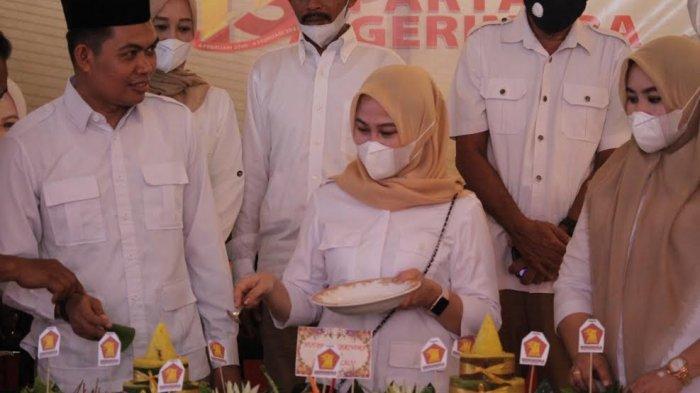 HUT ke-13 Tahun, Gerindra Target Menang Pileg Gowa 2024