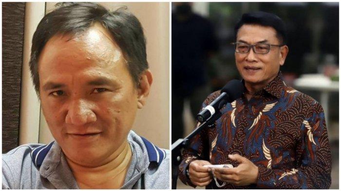 Moeldoko Tetap Akui Ketum Demokrat, Sindiran Kubu AHY Andi Arief Makin Keras 'Gigih Mencuri'