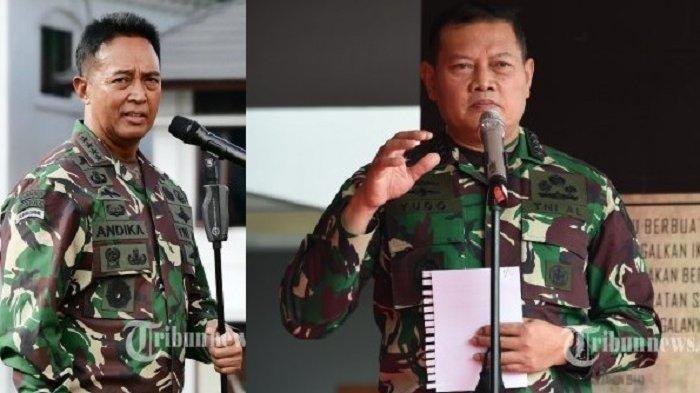 Profil dan Rekam Jejak Andika Perkasa dan Yudo Margono Calon Kuat Panglima TNI Pengganti Hadi