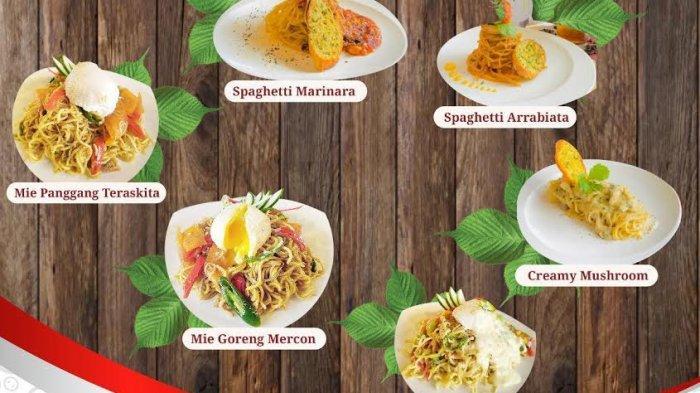 Aneka Mie di Canting Restaurant Teraskita Makassar, Mulai Rp 40 Ribu