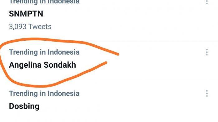 Angelina Sondakh trending saat ini