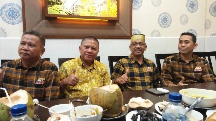 Kamrussamad Perkenalkan Calon Bupati Pangkep dari Partai Gerindra