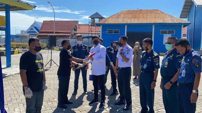 Anggota DPD RI Andri Prayoga Cek Langsung Program Padat Karya Kemenhub Pascagempa Sulbar