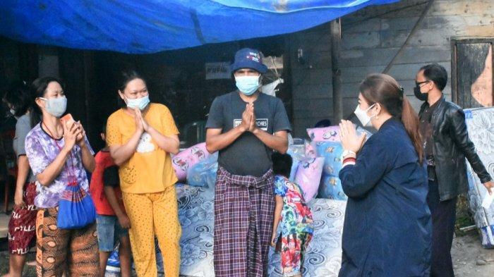 ESR Janji Beasiswa Anak Korban Kebakaran Pasar Baru Sangalla Tana Toraja