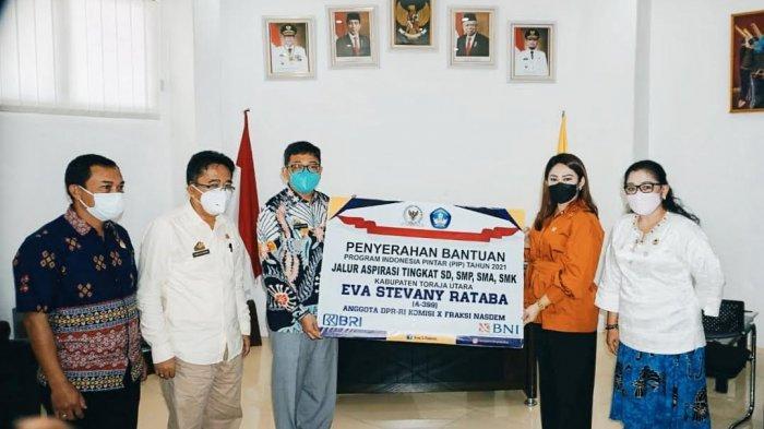 13 Ribu Siswa di Toraja Utara Terima Bantuan PIP Jalur Aspirasi