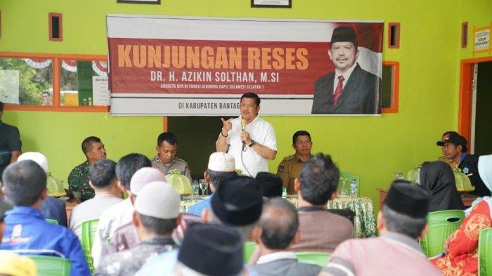 Pulang Kampung, Azikin Solthan Ajak Warga Bantaeng Jaga Kedamaian
