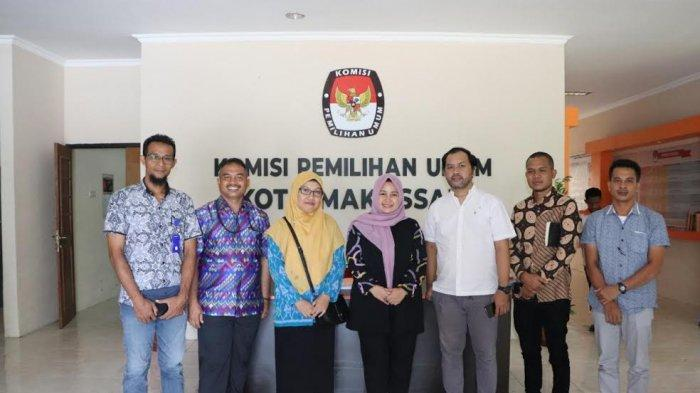 Penasaran Kemenangan Kolom Kosong, KPU Sumbawa Studi Banding ke Makassar