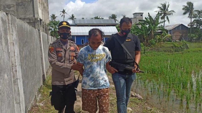 Polsek Panca Rijang Sidrap Tangkap Pencuri Laptop dan Motor di Rumah Kos