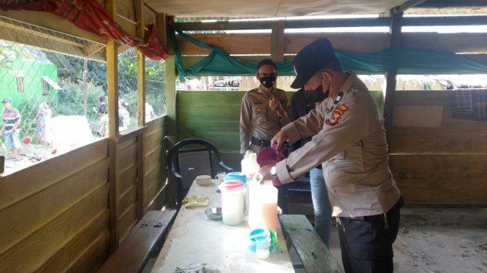 Operasi Cipkon, Polsek Wara Palopo Amankan 105 Liter Ballo dari Berbagai Lokasi