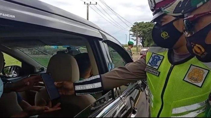 Warga Ber-KTP Jeneponto Bisa Lolos di Posko Penyekatan Tanpa Swab