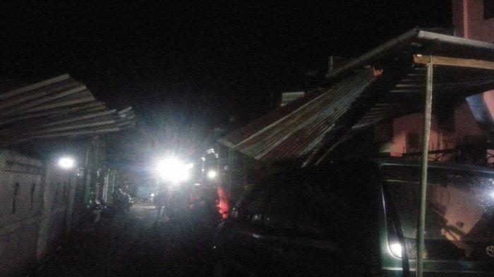 Hujan Deras Disertai Angin Kencang, Sejumlah Rumah Warga Rusak di Pallangga Gowa