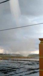 Angin Puting Beliung Landa Cappakala Pinrang, Ada Kerusakan?
