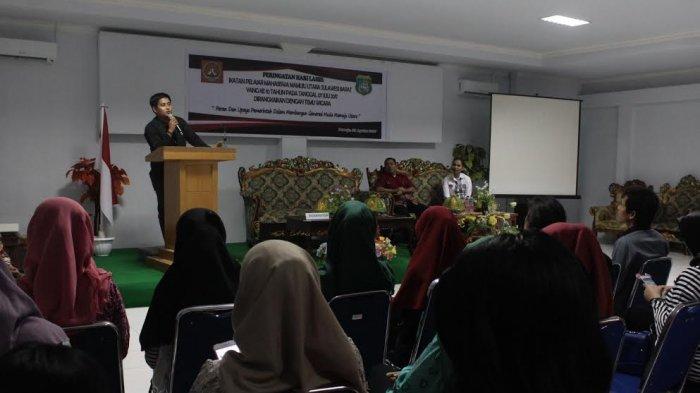 Pengurus IPMA Mamuju Utara Tagih Janji Pembangunan Asrama