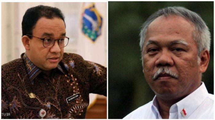 Menteri PUPR Basuki Hadimuljono Marah-marah ke Anies Baswedan Soal Banjir Jakarta