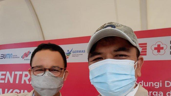 Anies Baswedan Kunjungi Vaksinasi IKA Unhasdi Jakarta