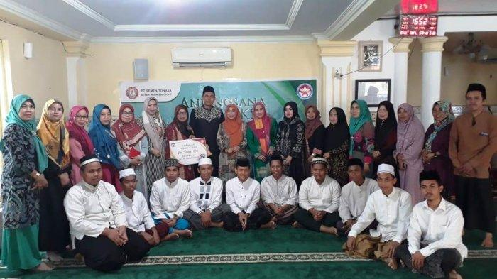Peringati HUT ke-51 Semen Tonasa, KIKST Anjangsana & Beri Bantuan Ponpes Tahfizhul Quran Al-Adewiyah