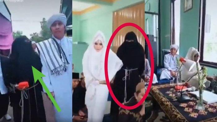 Antarkan Suami Nikah Lagi, Wanita Ini Banjir Air Mata Usai Acara Ijab Kabul, Komen Istri Kedua