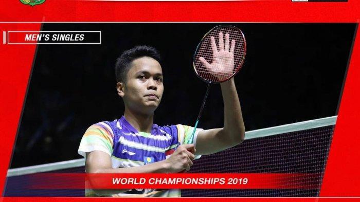 Wakil Indonesia Mulai Berguguran, Pemain India Kubur Mimpi Anthony Ginting Jadi Juara Dunia 2019