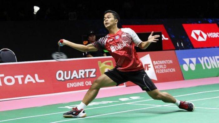 Nonton Disini, Live Streaming Semifinal TVRI & INEWS Piala Thomas: Indonesia Tertinggal 0-1 China