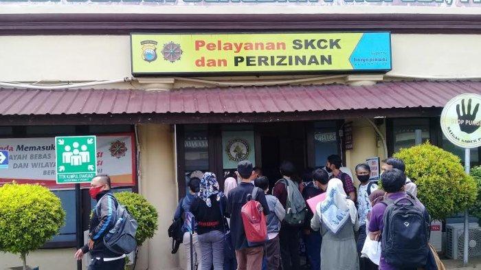 Pemohon SKCK di Polrestabes Makassar Membludak, Ini Pemicunya