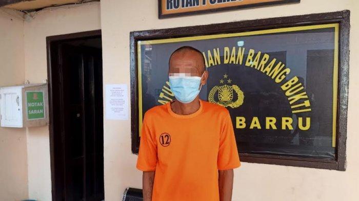 13 Tahun Buron Usai Bunuh Ikuneng di Barru,Anwar Bekerja Buruh Lepas di Malaysia Demi Bertahan Hidup