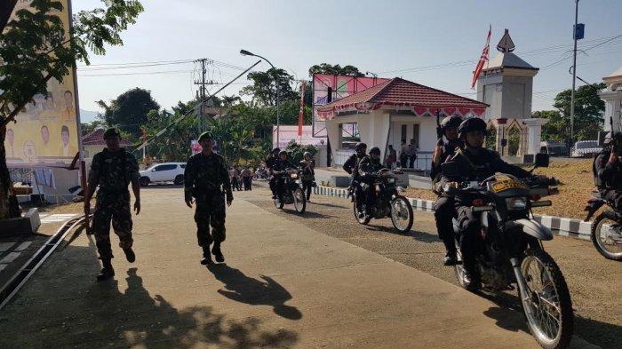 500 Personel Gabungan TNI-Polri Amankan Pelantikan Anggota DPRD Sulbar