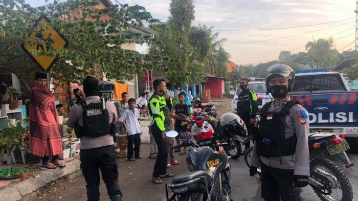 Antisipasi Balapan Liar, Polisi Bubarkan Kerumunan Pengendara di Majene