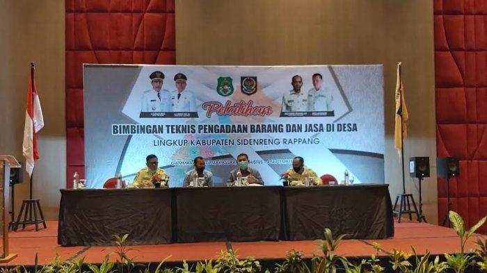 Apdesi dan Pemkab Sidrap Gelar Bimtek Pengadaan Barang dan Jasa di Makassar