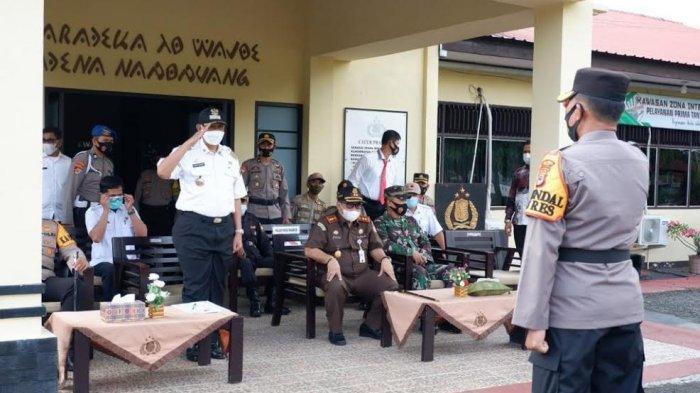 130 Personel Gabungan Bakal Jaga Perbatasan Wajo, Nekat Mudik Bakal Didenda Rp100 Juta