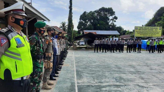 Antisipasi Pemudik, 1.125 Personel Gabungan di Sulbar Jaga Perbatasan