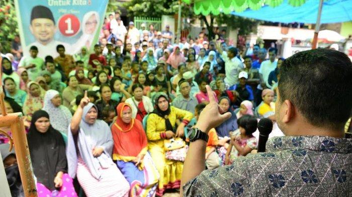 Legislator Nasdem dan Golkar Dampingi Appi Kampanye di Kelurahan Bitoa