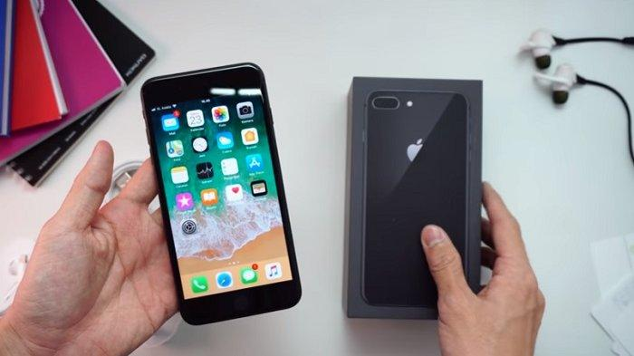 Apple iPhone 8 Plus 256GB - Space Grey Rp. 12.499.000