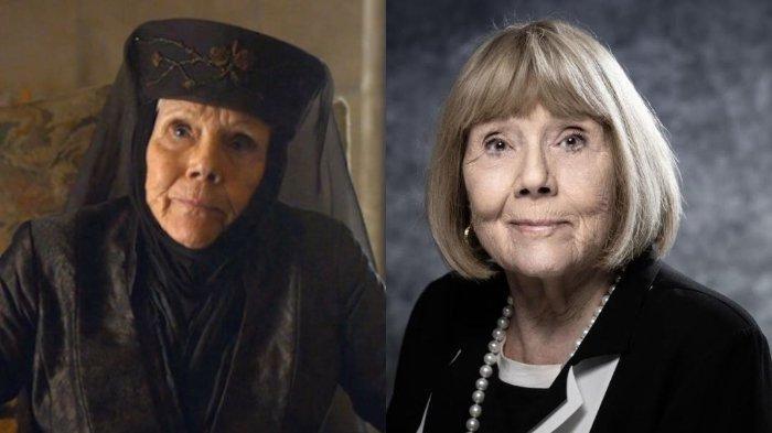 Artis peran dalam film The Avenger dan Game of Thrones, Diana Rigg meninggal dunia