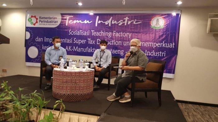 Akom Manufaktur Bantaeng Sosialisasi Teaching Factory dan Implementasi Super Tax Deduction