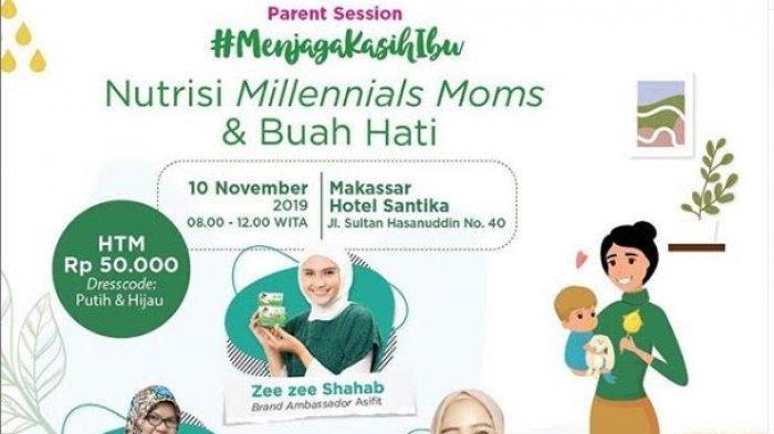 Moms Milenials, Jangan Ketinggalan Ikuti Parent Session di Hotel Santika,Catat Tanggalnya!