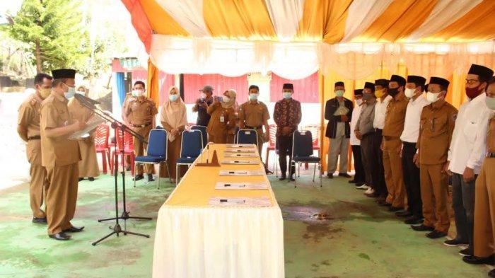 Asisten 1 Pemkab Enrekang Minta BPD Lakukan Pengawasan Kinerja Kepala Desa