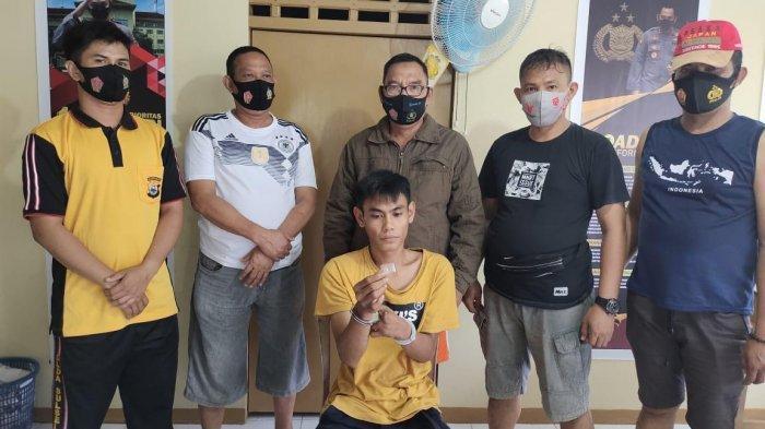 Kantongi Sabu-sabu, Pemuda Asal Pitumpanua Wajo Ditangkap Polisi