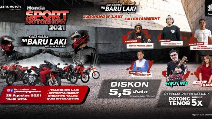 Malam Ini Asmo Sulsel Gelar Honda Sport Motoshow, Ada Talkshow Hingga Promo Spesial