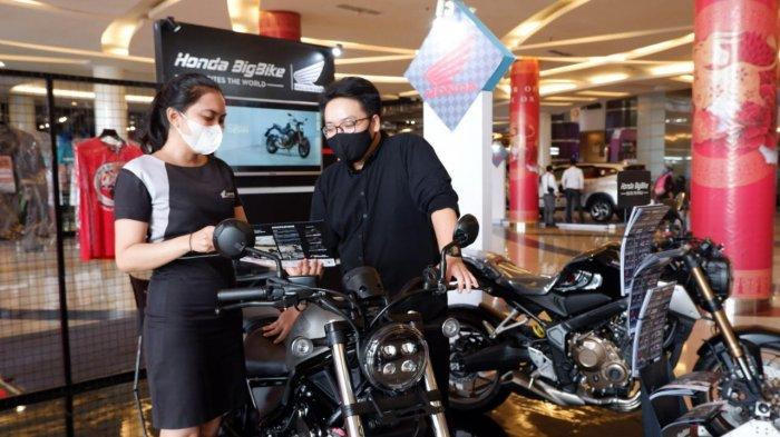 Jajaran Big Bike Honda Mejeng di Trans Studio Mall Makassar