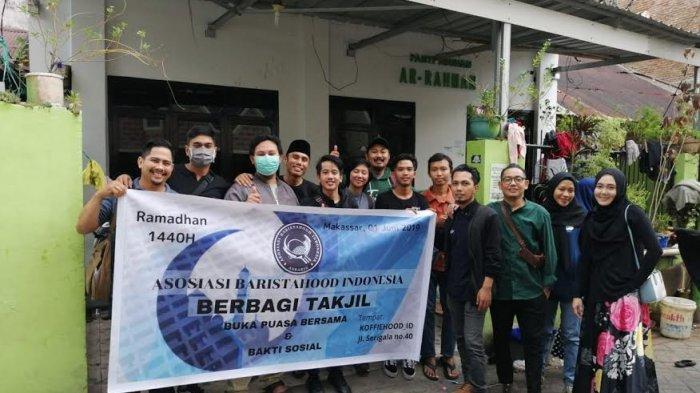 Asosiasi Baristahood Indonesia Buka Puasa Bersama dan Bakti Sosial