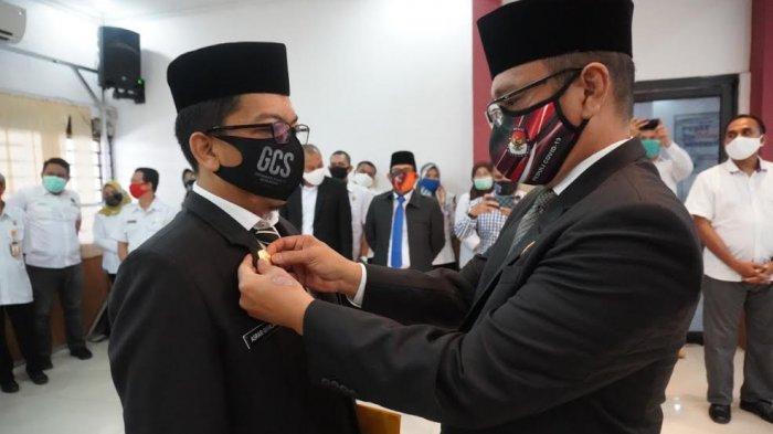 Asrar Marlang Resmi Sebagai Sekretaris KPU Makassar