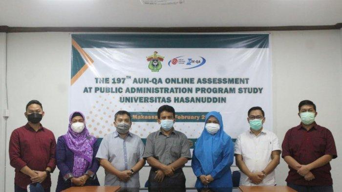 Prodi Administrasi Publik Unhas Raih Sertifikat Internasional AUN-QA